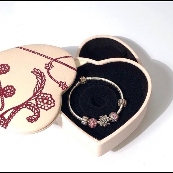 Pandora Jewelry Euc Limited Edition Pandora Two Tier Jewelry Box Poshmark